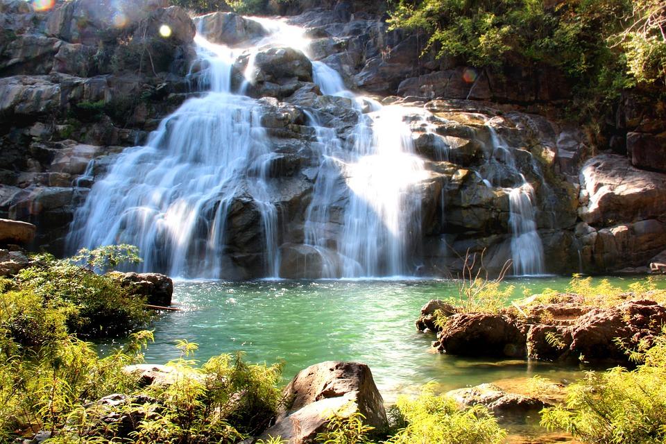 Day, Waterfall, Thailand Wood, Tree, Natural