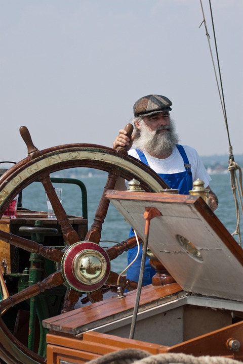 Sailor, Fisherman, Man, Person, Thames, Barge, Skipper