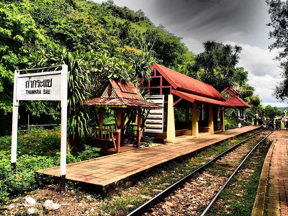 Yut, Travel, Life, Railroad, Station, Thamkra Sae