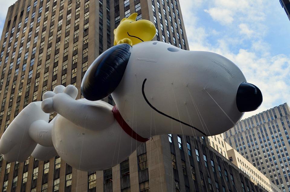 Thanksgiving, Parade, Snoopy, Newyork