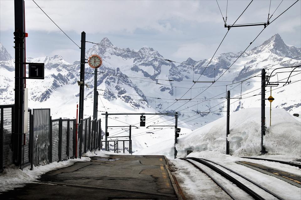 Zermatt, Peron, The Alps, Places Of Interest, Railway