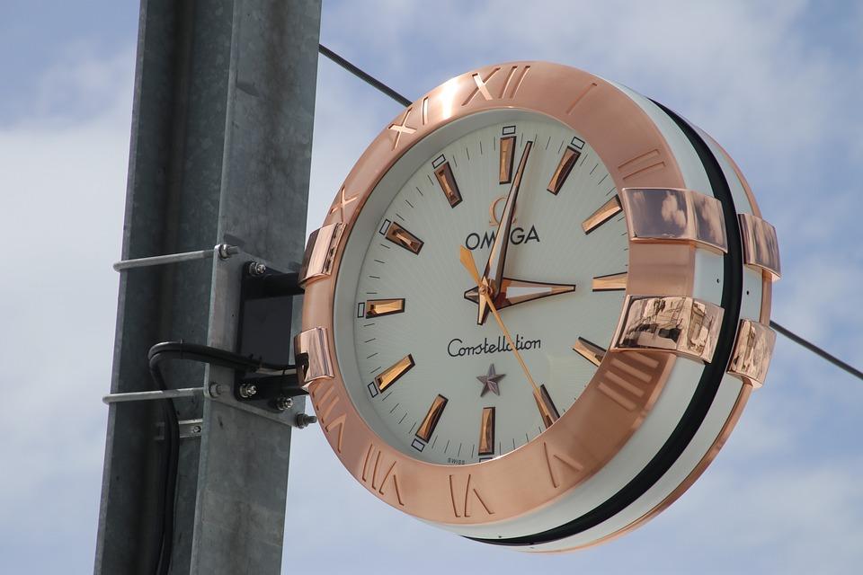 Zermatt, The Alps, Clock, Watch, Clock Shield, Railway