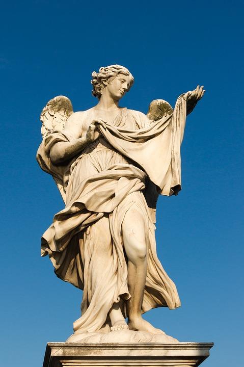 The Angel With The Veronica Veil, Sant'angelo Bridge