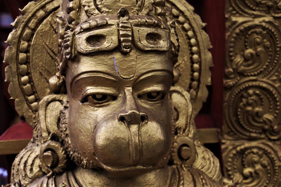 The Art Of, Hanuman, Indian, Sculpture, Religion