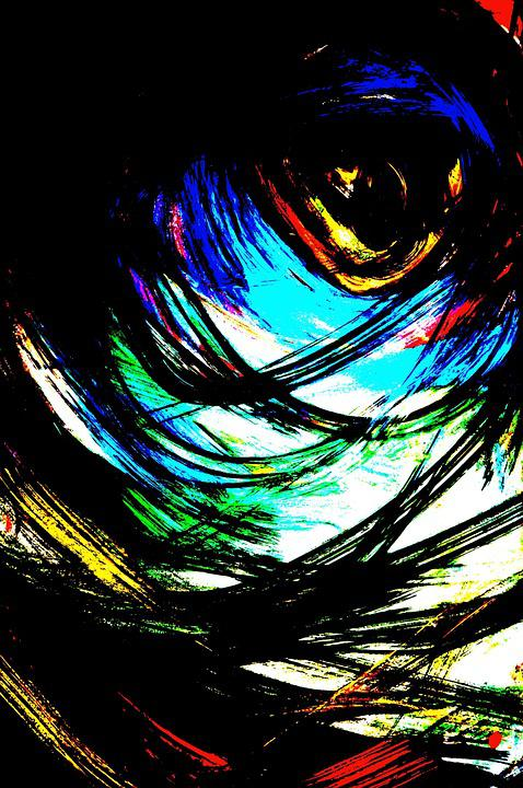 Artistic, The Art Of, Abstraction, Eye, Painting
