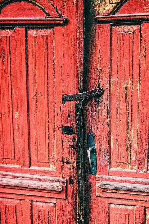 The Door, Door Handle, Old, The Art Of, Tourism