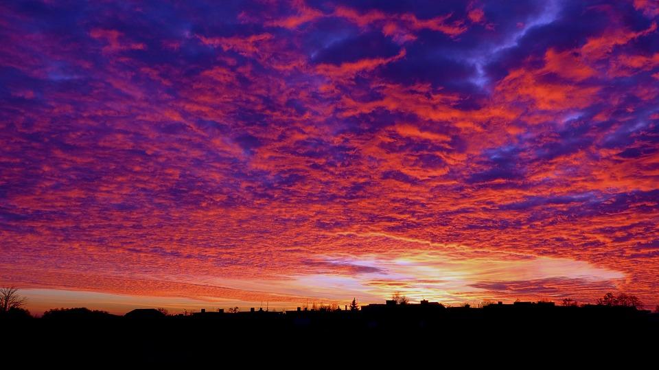 Clouds, Color, Nature, Sky, Landscape, The Background