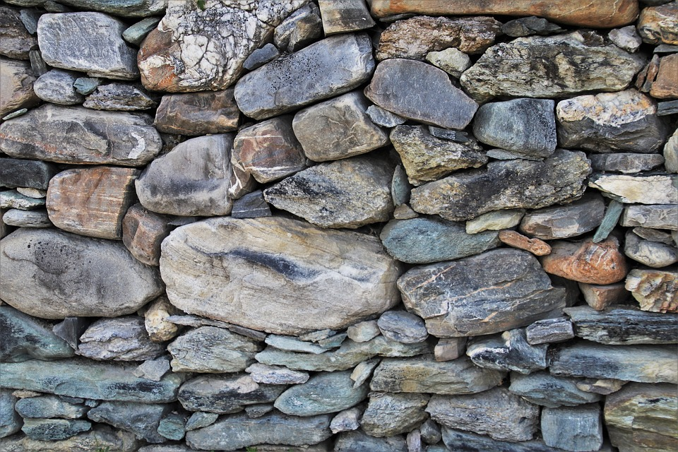 Stone, Gray, Walls, The Background