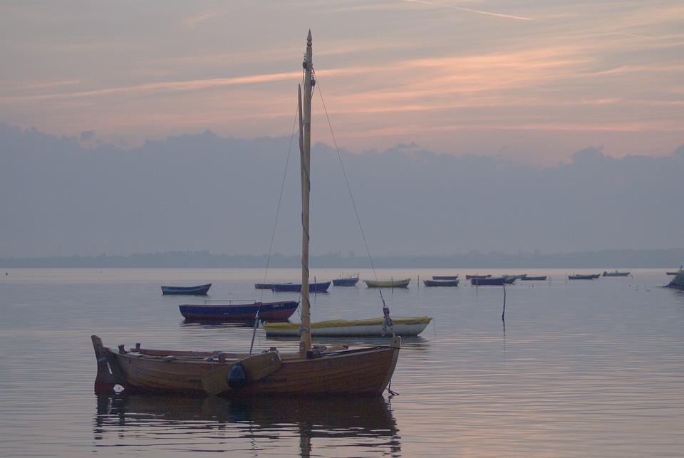 Sea, Water, The Baltic Sea, The Coast, Ships, Boats
