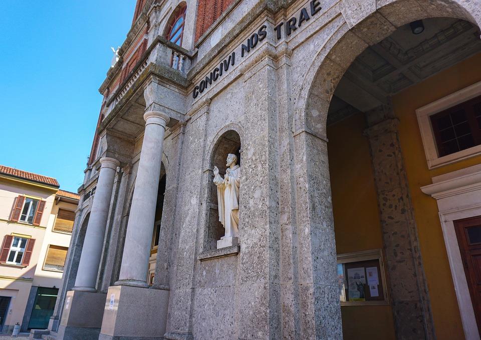 The Basilica Of Sant'antonio Abate