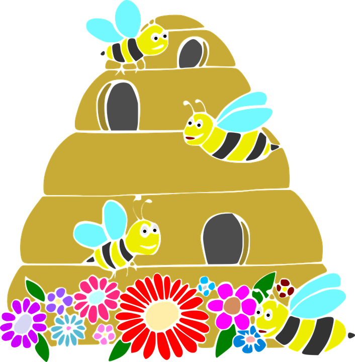 Bee Hive, The Hive, Honey, Bee, The Bees, Insect
