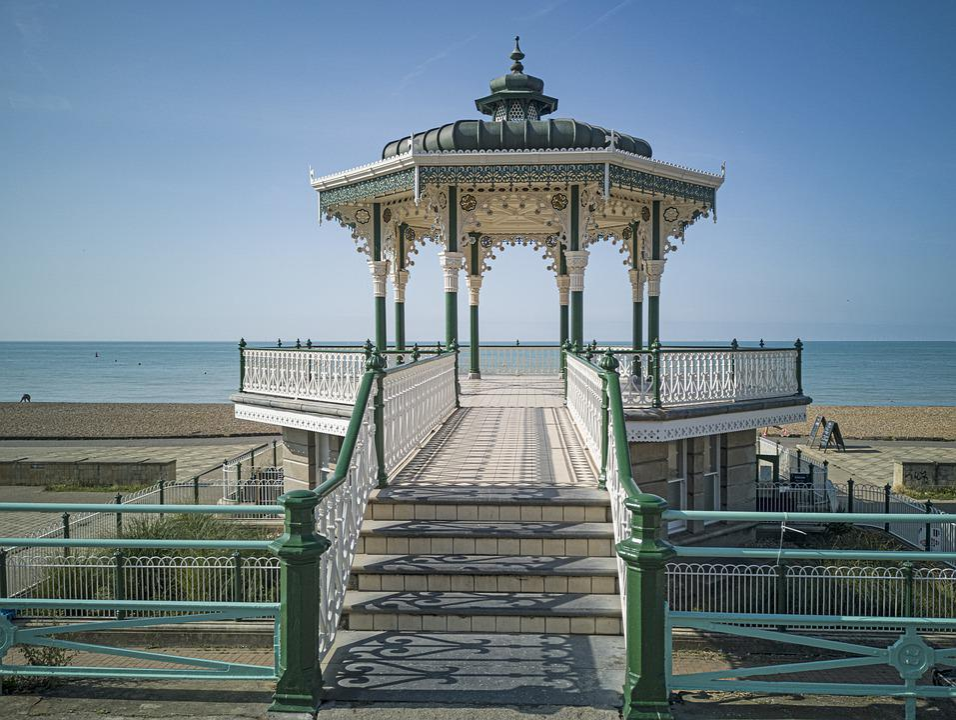 Music Pavilion, The Bird Cage, Brighton, Architecture