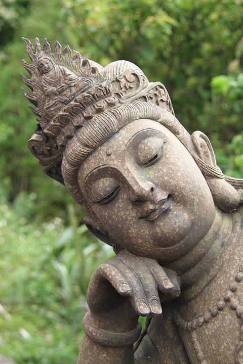Buddhism, The Bodhisattva, Stone, Carving, Art