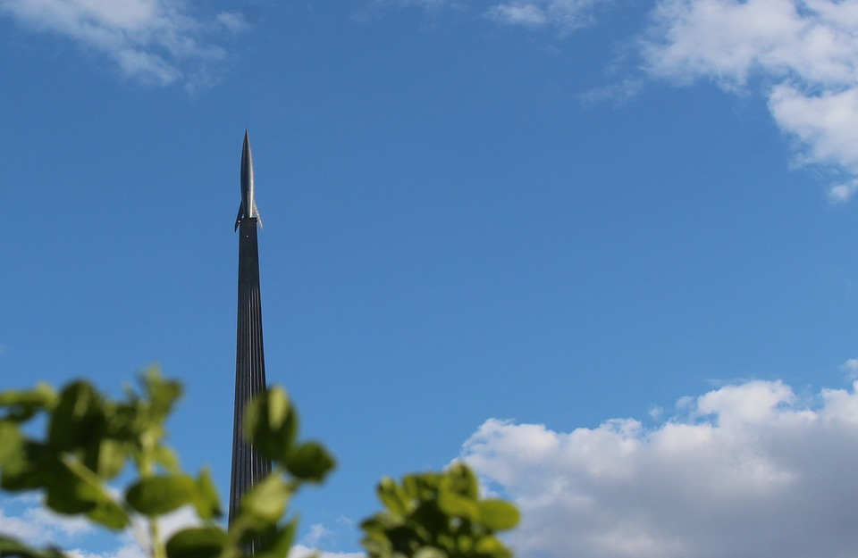 Rocket, Monument, Launch, Flight, The Bushes, Sky