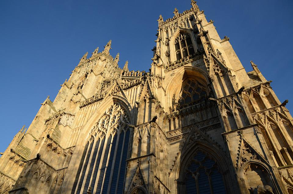 York Minster, The Cathedral, Church, Architecture