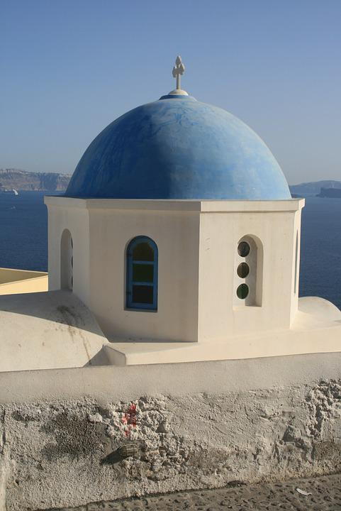 Greece, Santorini, Cyclades, Holidays, The Coast