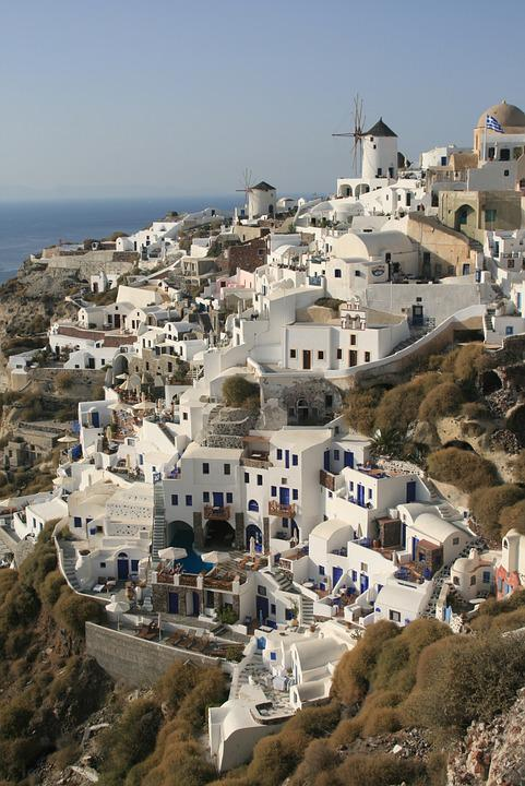 Cyclades, Greece, Santorini, The Coast
