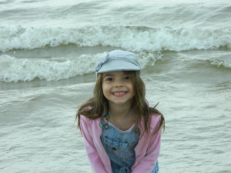 Sea, Child, Beach, Summer, Holidays, The Coast, Water