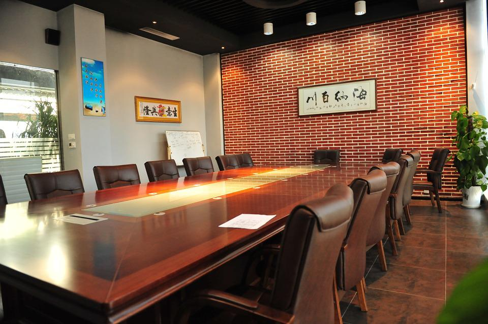 Conference Room, The Company, Business Negotiations