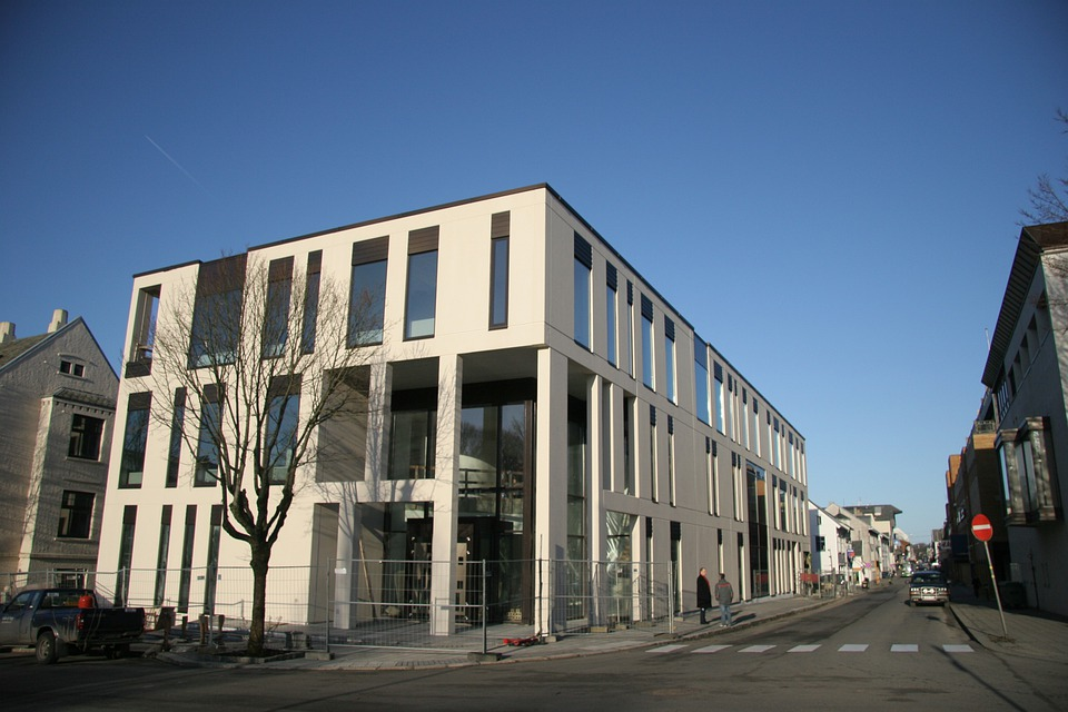 The Courthouse In Haugesund, Court, Judge, Building