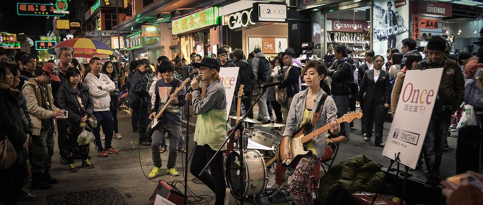 People, The Crowd, Street, The Band, Market, Sing