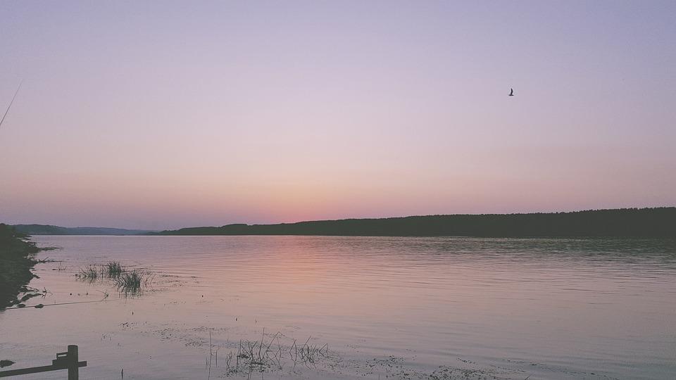Serbia, The Danube, River, Balkan, Sunset, Calm
