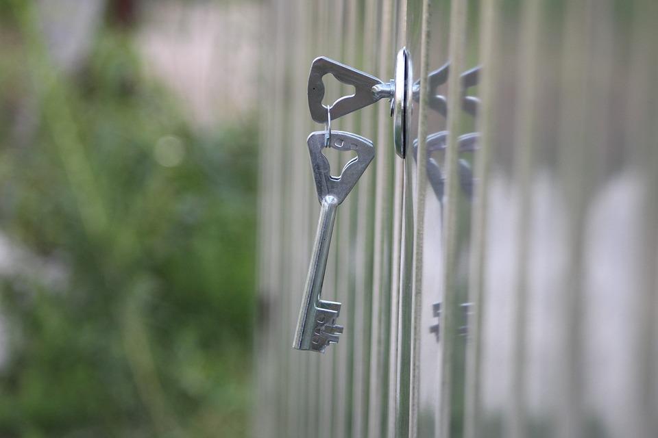 Key, Gateway, Castle, The Door, Metal, Closed, Safe