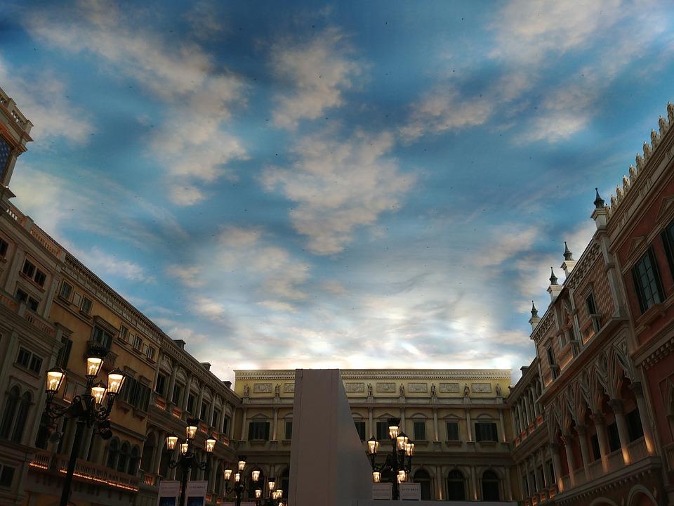 Macau, Venice, The Early Evening Sky