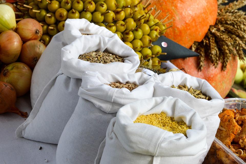 The Ecclesia, Grain, Vegetables, Harvest Festival