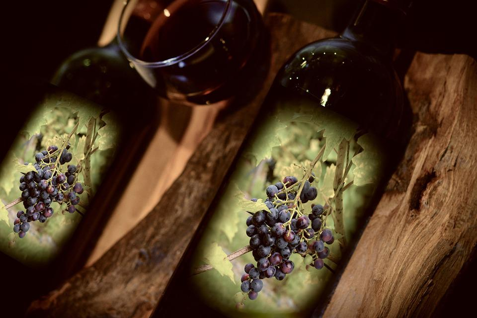 Wine, Red Wine, The Enjoyment Of The Wine, Wine Bottles