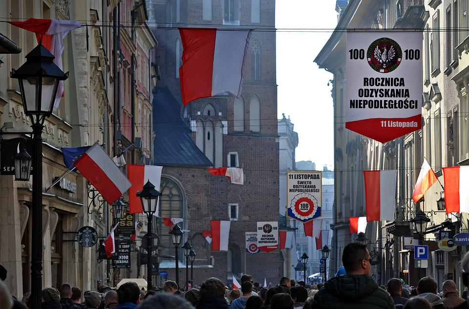 The Feast Of The, Century, Independence, Poland, Kraków