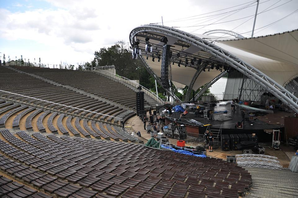 The Amphitheater, The Festival, Scene, Audience