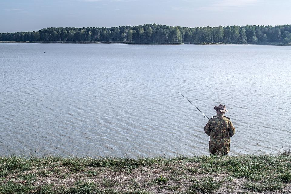 The Fisherman, Water, Pond, Lake, The Fishermen, Nature