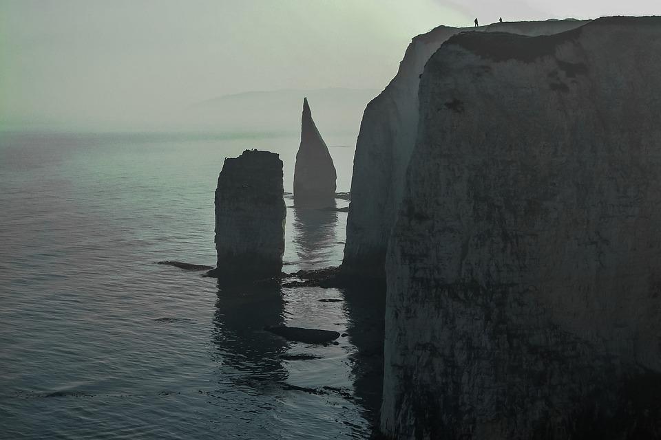 The Fog, Old Harry Rocks, Sea