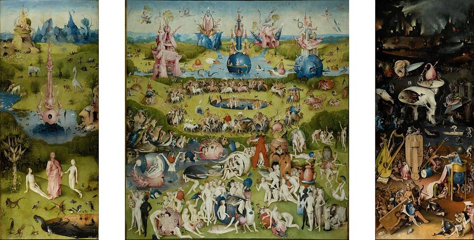 The Garden Of Earthly Delights, Garden, Eden, Triptych