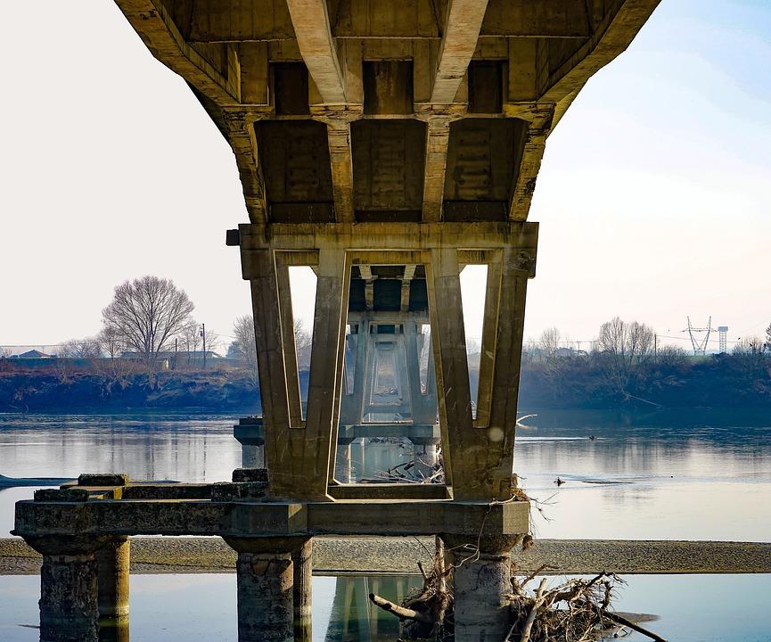 Bridge, The Geological Museum, Piacenza