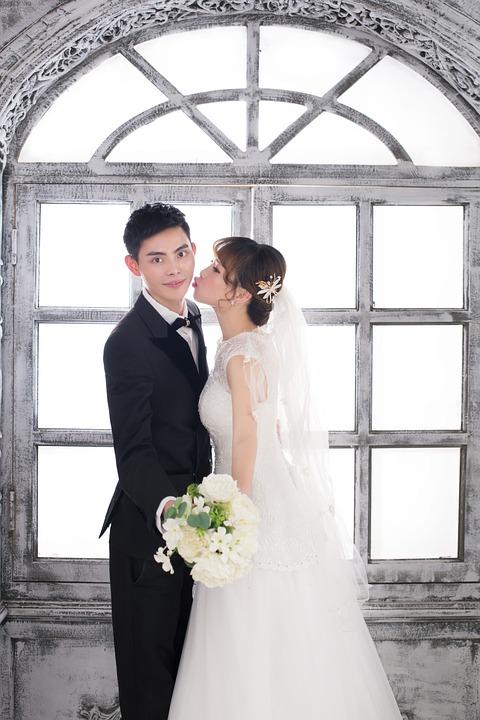 Love, Romantic, Bride, The Groom