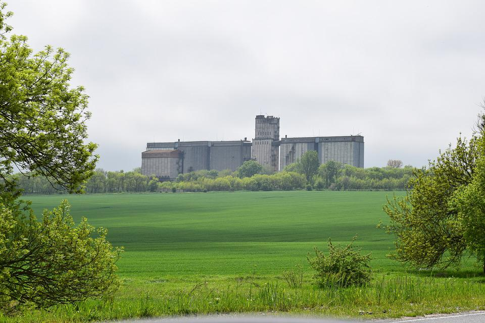 Elevator, Grand Silo, Wheat, The Harvest, Corn
