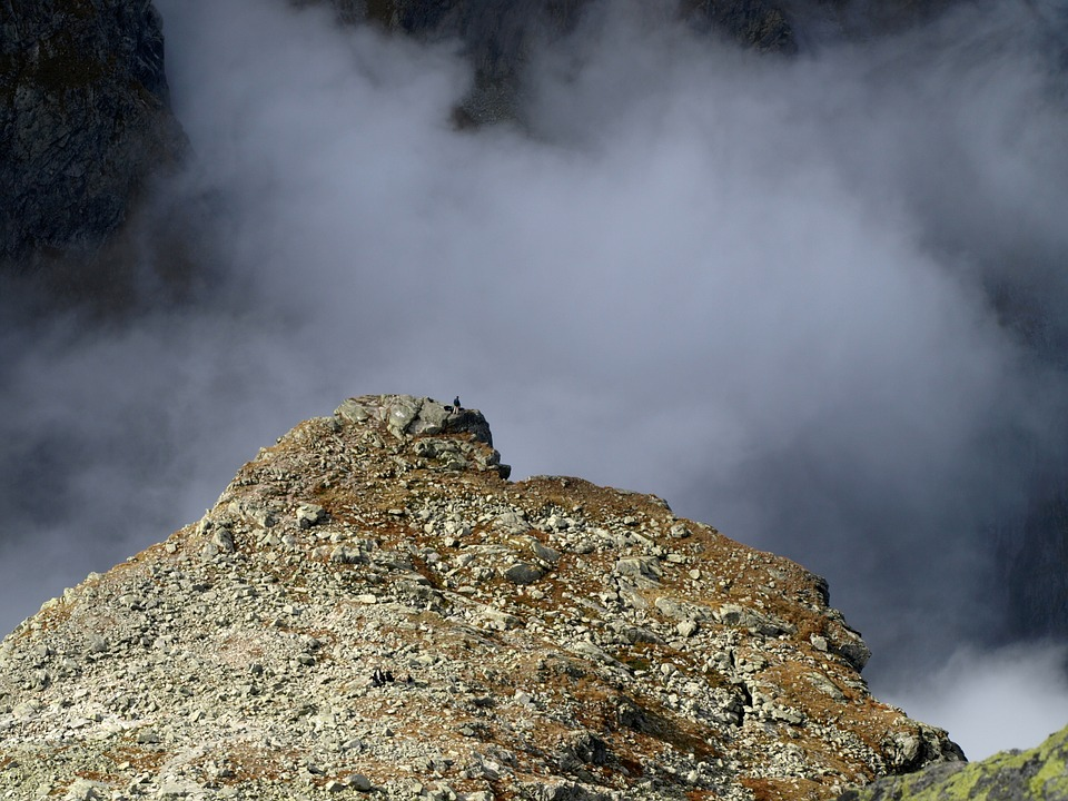 Rock, Mountain, Cloud, Tatry, Nature, The Height Of The