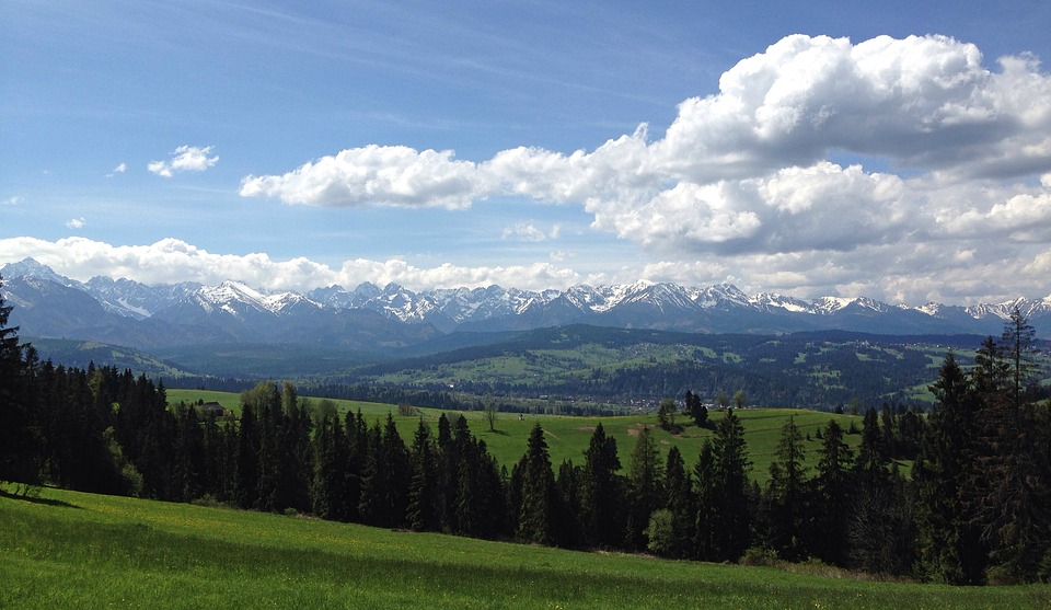 Mountains, Tatry, The High Tatras, Landscape, Spring