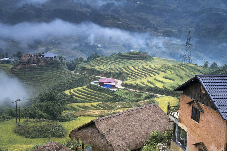 Rock, Scenery, The H'mong People, Home, Nation, Vietnam