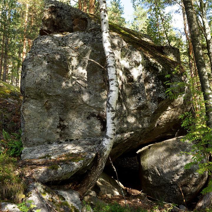 Boulder, Stone, The Ice Age