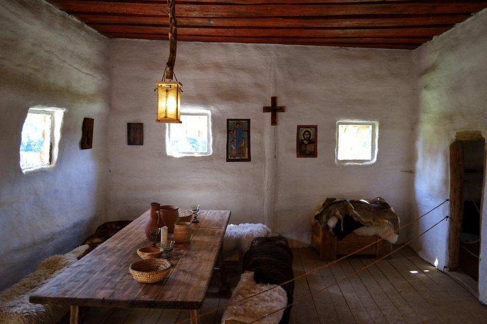 Old Room, Skanzen, The Interior Of The