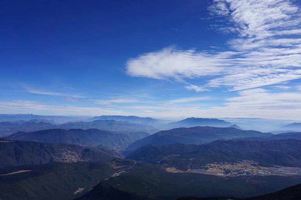 Natural Landscape, The Jade Dragon Snow Mountain