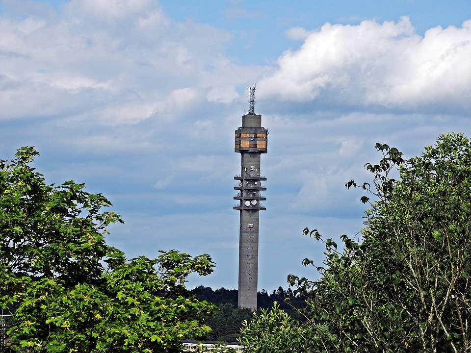 Stockholm, The Kaknäs Tower, The Radio Tower