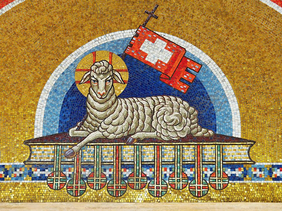 Free Photo The Lamb Jesus Easter Symbol Max Pixel