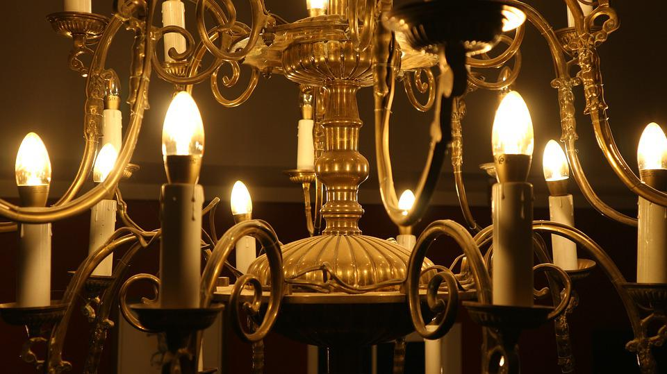 Light, The Light Bulb, Replacement Lamp, Chandelier