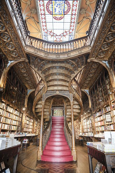 Porto, The Livraria Lello, Bookshop, Ivo Rainha