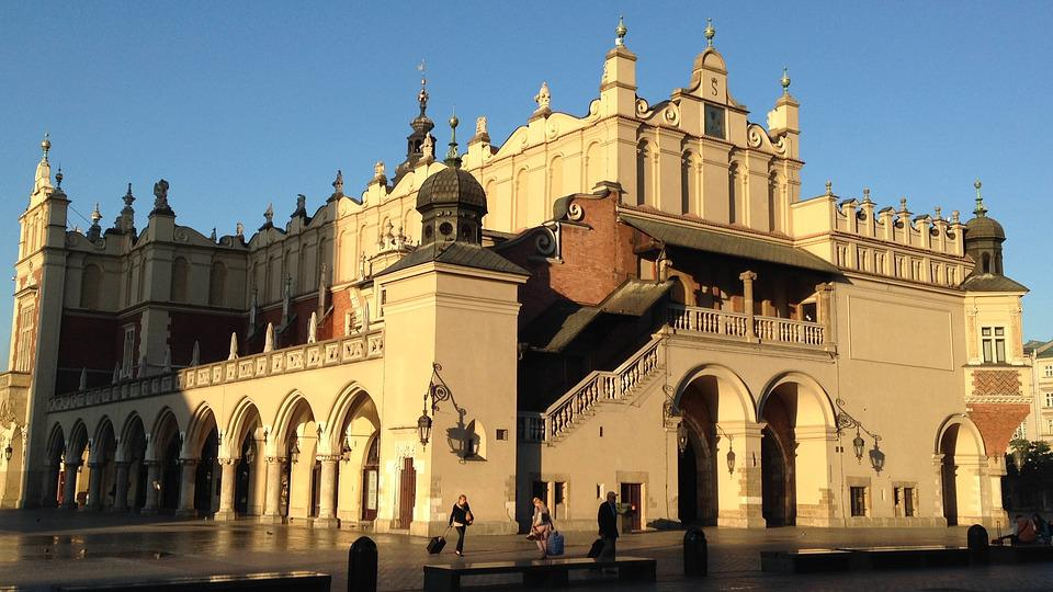 Kraków, Cloth Hall Sukiennice, The Market, Architecture