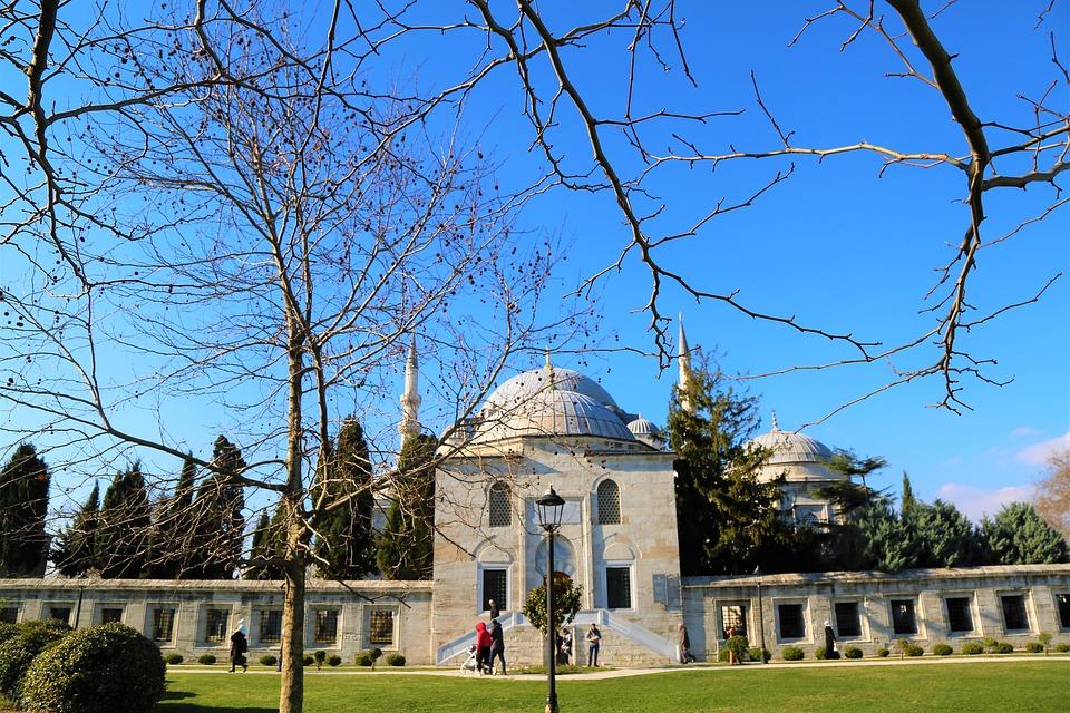 Cami, The Minarets, Dome, City, Islam, Religion, Travel